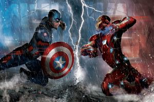 Captain America Civil War al cinema: La discussione tra Cap e Iron Man in una nuova clip in italiano