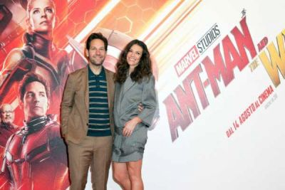 Ant-Man and the wasp: Paul Rudd e Evangeline Lilly hanno presentato il cinecomics a Roma