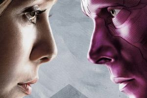 Captain America Civil War in home video: gag sul set con Visione e Scarlett Witch