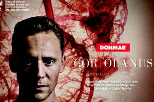 Coriolanus con Tom Hiddleston al cinema: trailer ufficiale e elenco sale dove vederlo