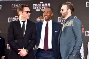 Captain America Civil War: video integrale Red Carpet world premiere a Hollywood con Chris Evans e Robert Downey Jr