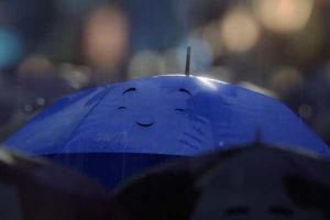 The Blue Umbrella prima di Monster University: prima clip del nuovo cortometraggio Pixar