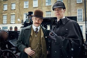 Sherlock - L'abominevole sposa con Cumberbatch e Freeman torna al cinema: nuovo trailer del film in look vittoriano