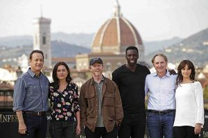 Inferno con Tom Hanks: Ron Howard e il cast a Firenze per la premiere mondiale