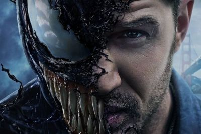 Venom, cinecomics con Tom Hardy: nuova clip in inglese e final poster italiano