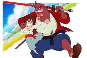 The Boy and the beast: trailer italiano dell'anime in arrivo a maggio per due giorni al cinema