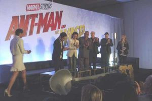 Ant-Man and the wasp: video della conferenza stampa di presentazione con Paul Rudd e Evangeline Lilly