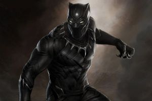 Black Panther cinecomics Marvel: nuovo poster italiano