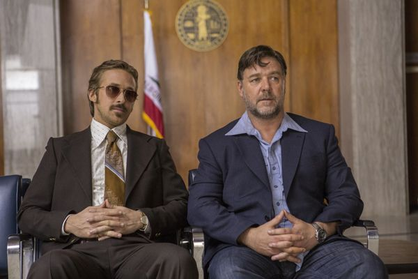 The Nice Guys con Russell Crowe e Ryan Gosling: fotogallery characters poster italiani