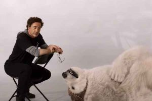 Dolittle con Robert Downey Jr al cinema nel 2020: backstage con i provini agli animali