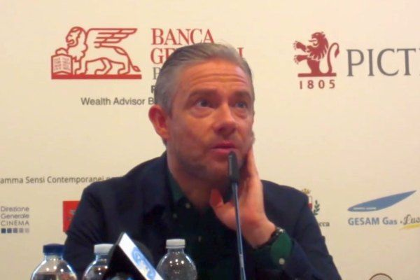 Martin Freeman al Lucca film Festival 2018: video della conferenza stampa di Ghost Stories