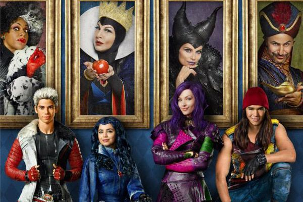 Descendants film TV Disney: video sul set con i figli dei cattivi della casa cinematografica di Topolino