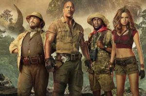 Jumanji the next level: altro poster italiano con Jack Black e Dwayne Johnson