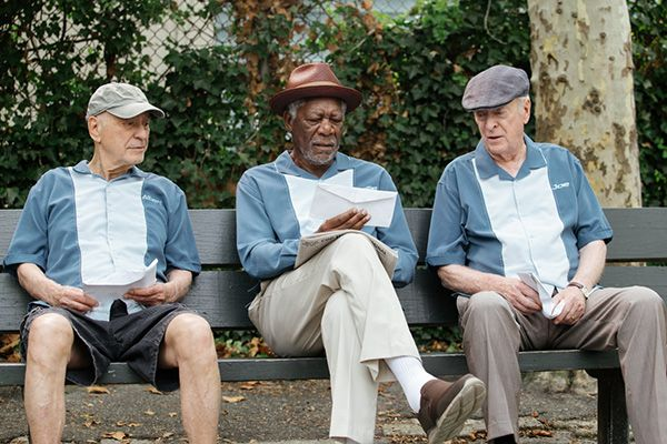 Insospettabili sospetti con Morgan Freeman, Michael Caine e Alan Arkin in uscita home video