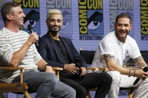 Venom, video del panel del Comic-Con 2018 di San Diego con Tom Hardy