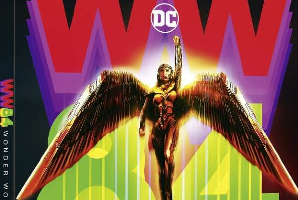 Wonder Woman 1984, cinecomics DC Comics con Gal Gadot in home video a marzo