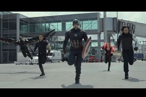 Captain America Civil War: video backstage footage con gli Avengers