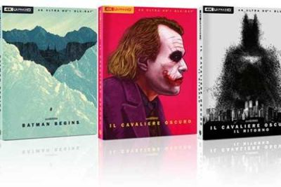 La trilogia de Il Cavaliere Oscuro - Art Edition in home video a marzo