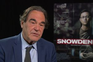 Snowden biopic uscita al cinema: video intervista al regista Oliver Stone