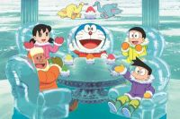 Doraemon il film - Nobita e la grande avventura in Antartide al cinema: prime due clip in italiano