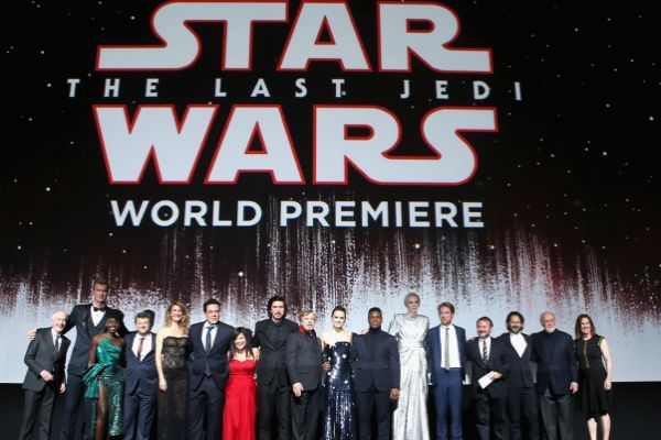 Star Wars gli ultimi jedi: video della world Premiere di Los Angeles