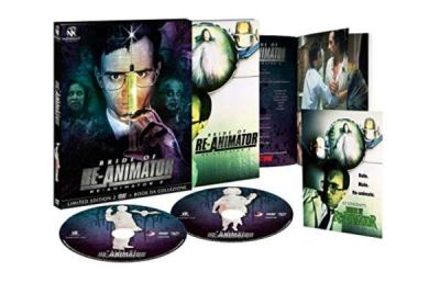 Bride of Re-Animator (Re-Animator 2) limited edition in home video in DVD e Blu-Ray