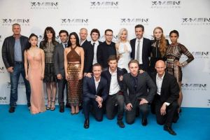 X-Men Apocalypse: Fotogallery Premiere di Londra con Jennifer Lawrence e cast del cinecomics Marvel 20Th Century Fox