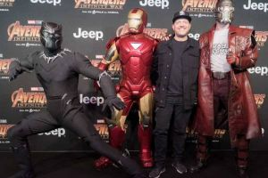 Avengers infinity war al cinema: fotogallery e video interviste di Cinetvlandia all'anteprima nazionale a Milano