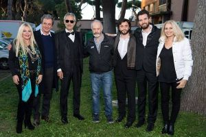 The Music of Silence: Andrea Bocelli sul set a Cinecittà
