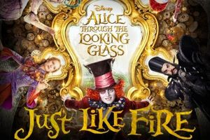 "Alice attraverso lo specchio film Disney: ""Just like fire"" di Pink nella colonna sonora, video del singolo"