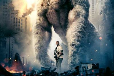 Rampage con Dwayne Johnson: secondo trailer in inglese del monster movie tratto dal videogame anni'80