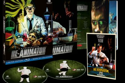 Re-Animator Collector's Edition: cult di Stuart Gordon in home video a maggio con tanti contenuti speciali in DVD e Blu-Ray