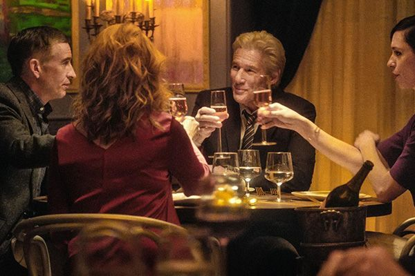 The dinner con Richard Gere al cinema: altre due clip in italiano