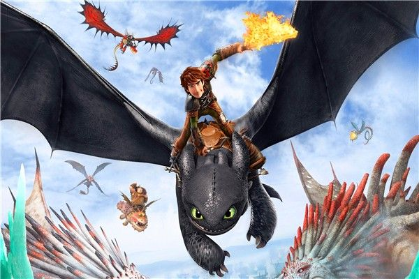 Dragon Trainer 3 - Il mondo nascosto al cinema: prima clip in italiano