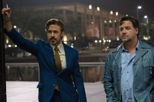 The Nice Guys: video saluto di Russell Crowe e Ryan Gosling alla premiere italiana a Roma