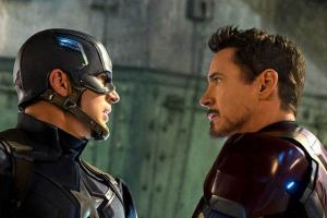Captain America Civil War: altri due spot tv internazionali con Chris Evans VS Robert Downey jr