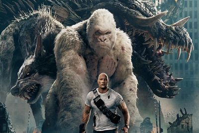 Rampage con Dwayne Johnson in home video: gli extra in DVD e Blu-Ray