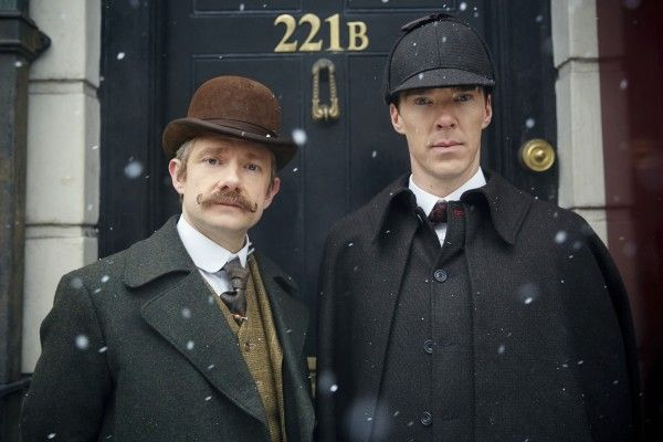 Sherlock - L'abominevole sposa con Cumberbatch e Freeman al cinema: nuova clip in italiano
