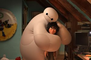Big Hero 6 film Disney Marvel: nuova clip in italiano con Flavio Insinna che da voce a Baymax