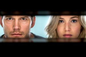 Passengers con Chris Pratt e Jennifer Lawrence ad aprile in home video: clip backstage dagli extra